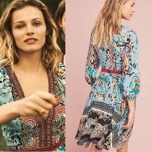 ‼️Anthropologie Beaded Karmina Dress 8 ‼️
